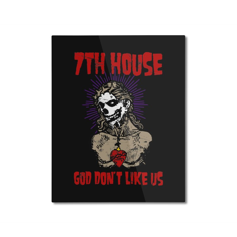 Design by Brian Van Der Pol Home Mounted Aluminum Print by 7thHouse Official Shop