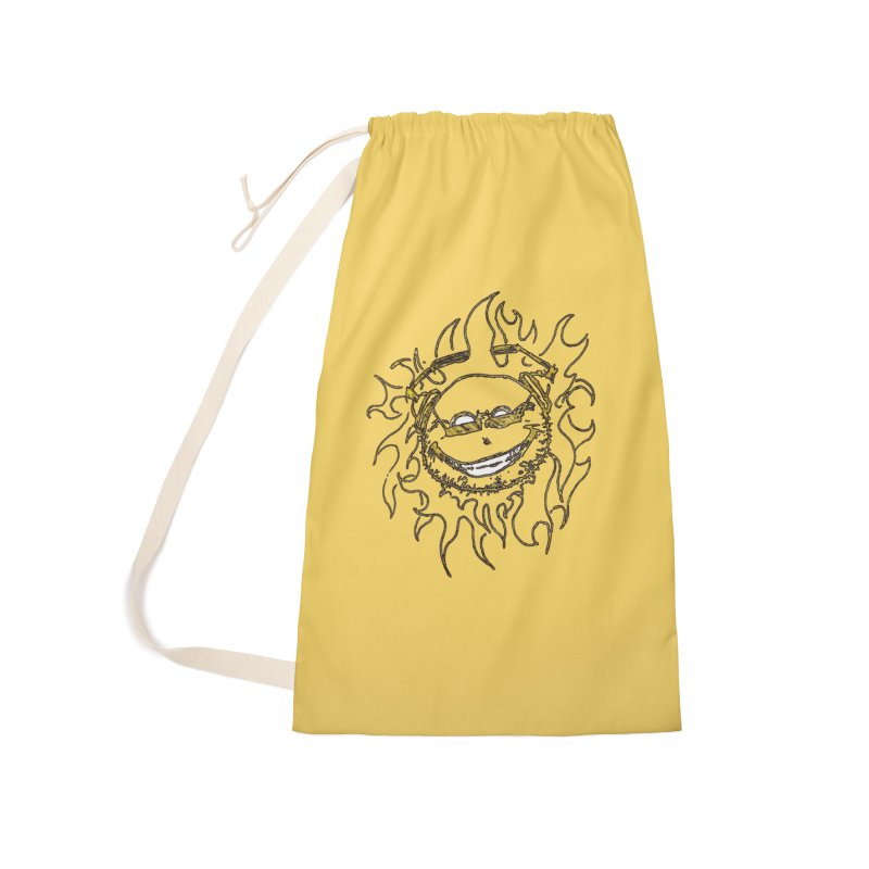 Sun Beats Accessories Laundry Bag Bag by 7thSin Apparel