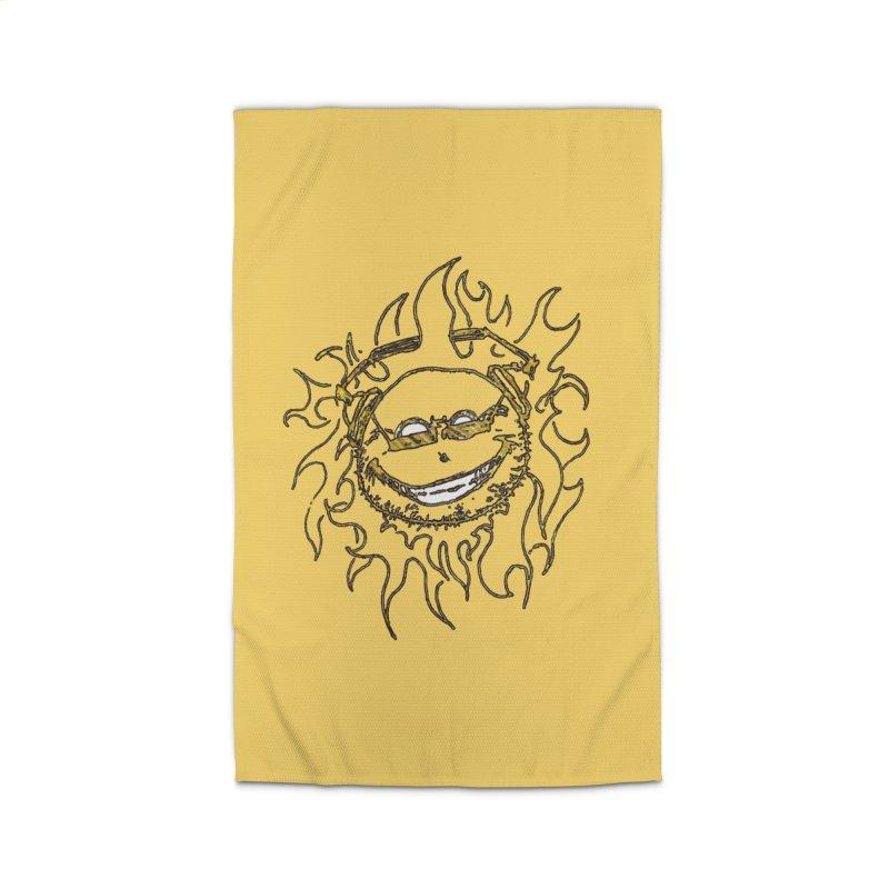 Sun Beats Home Rug by 7thSin Apparel