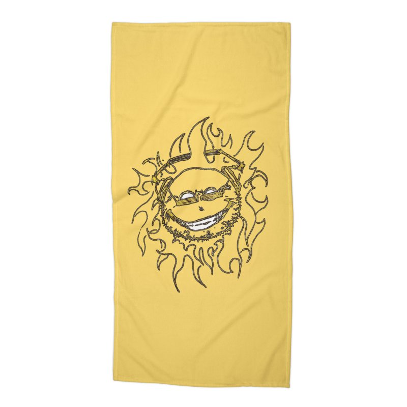 Sun Beats Accessories Beach Towel by 7thSin Apparel