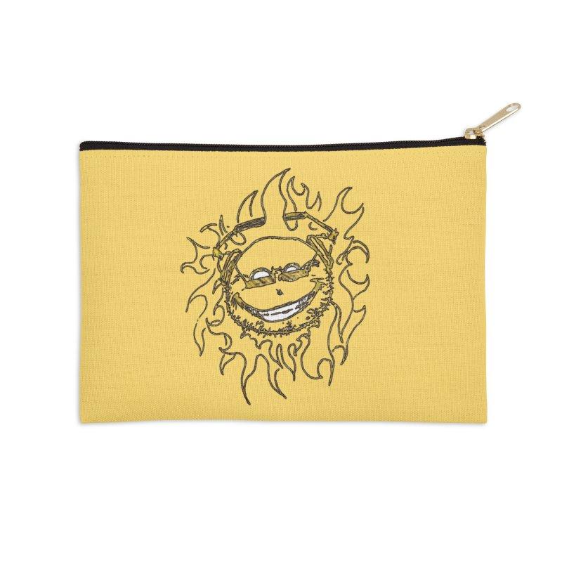 Sun Beats Accessories Zip Pouch by 7thSin Apparel