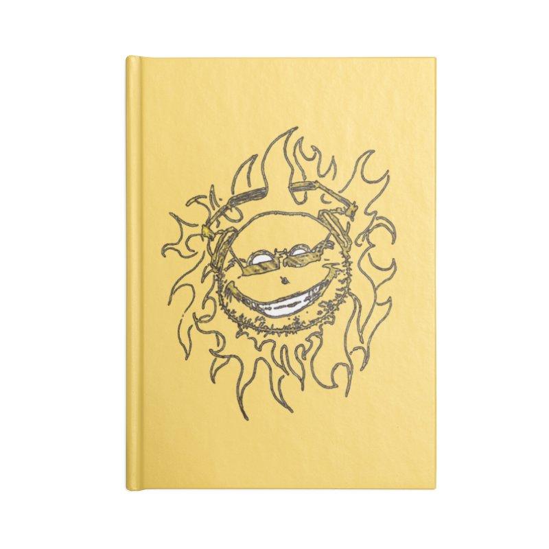 Sun Beats Accessories Blank Journal Notebook by 7thSin Apparel