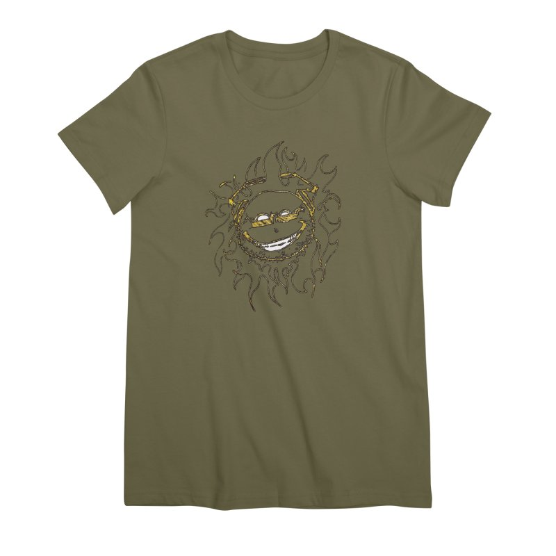 Sun Beats Women's Premium T-Shirt by 7thSin Apparel