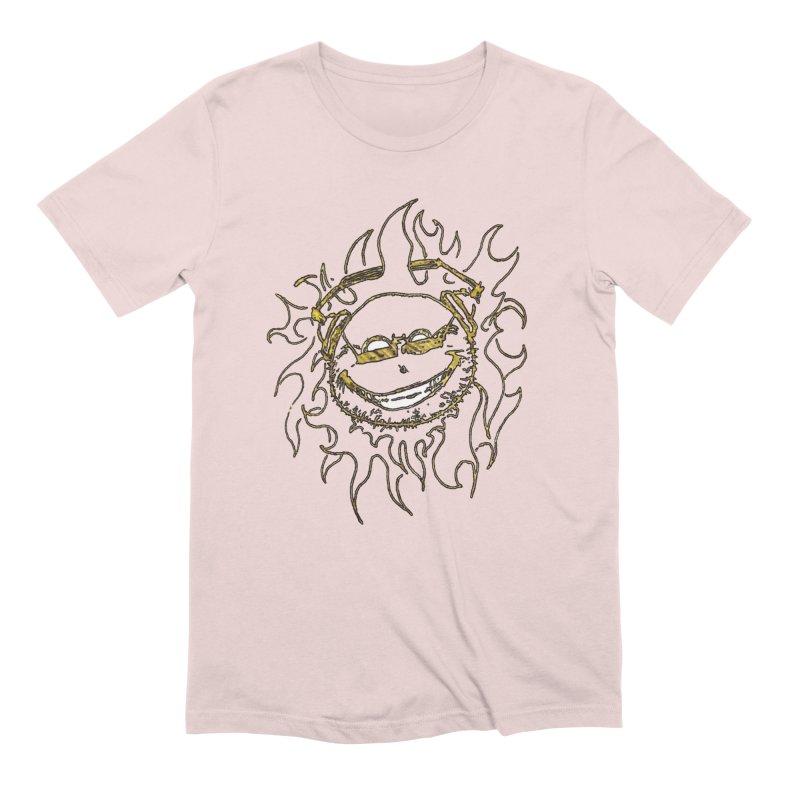 Sun Beats Men's Extra Soft T-Shirt by 7thSin Apparel