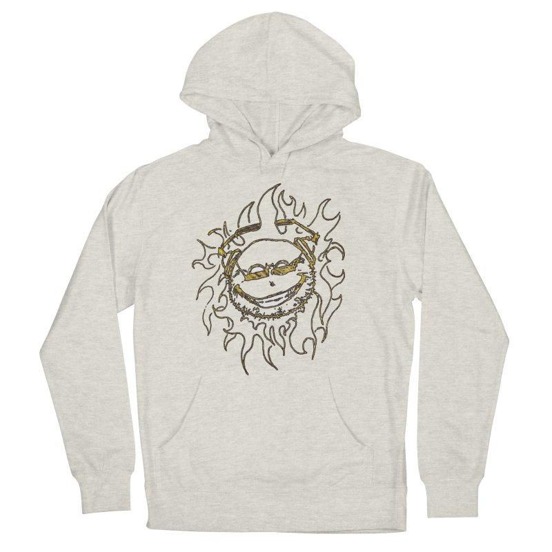 Sun Beats Women's French Terry Pullover Hoody by 7thSin Apparel