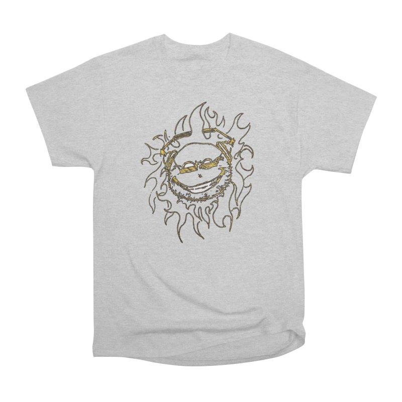 Sun Beats Men's Heavyweight T-Shirt by 7thSin Apparel