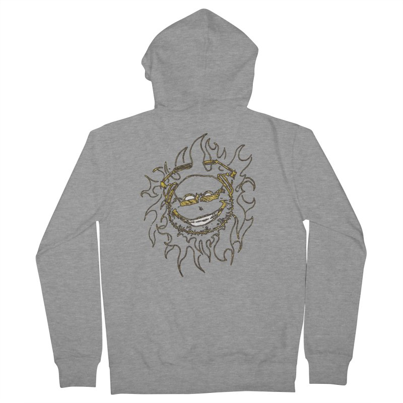 Sun Beats Men's French Terry Zip-Up Hoody by 7thSin Apparel