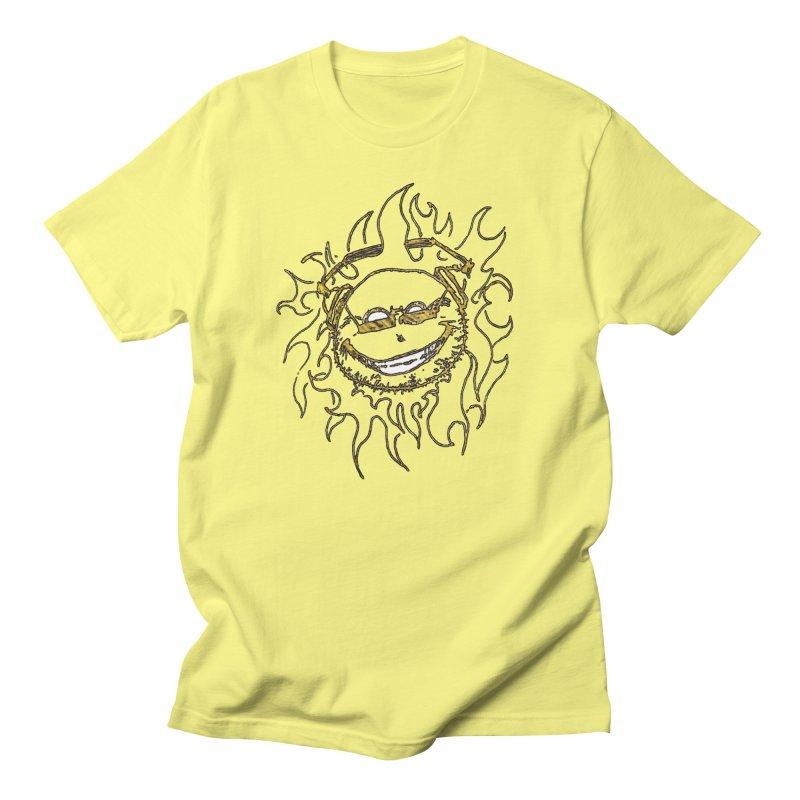 Sun Beats Men's Regular T-Shirt by 7thSin Apparel