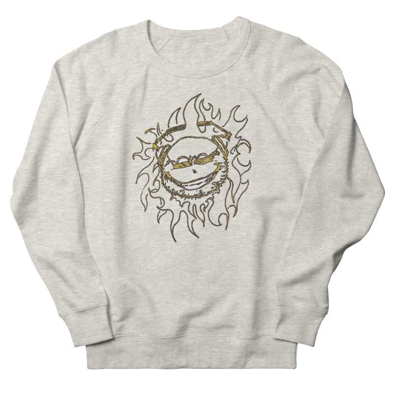 Sun Beats Men's French Terry Sweatshirt by 7thSin Apparel