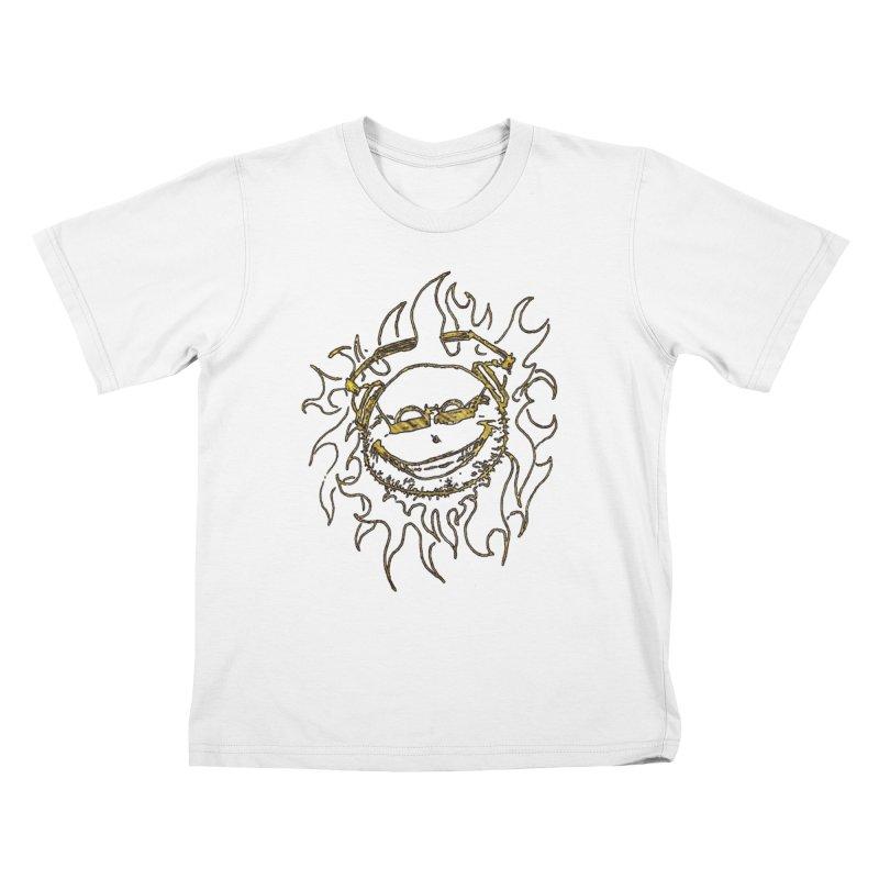 Sun Beats Kids T-Shirt by 7thSin Apparel