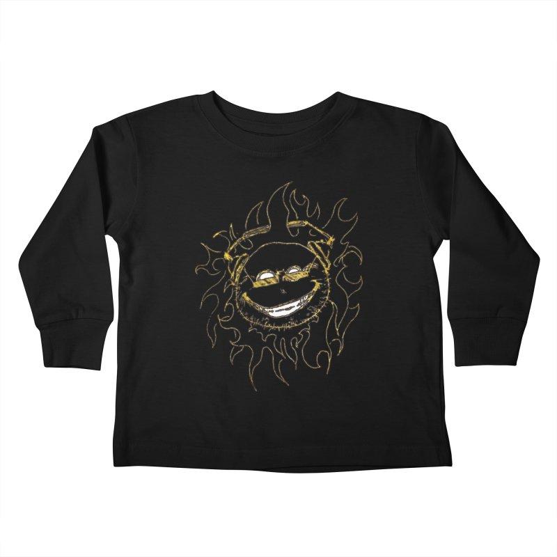 Sun Beats Kids Toddler Longsleeve T-Shirt by 7thSin Apparel