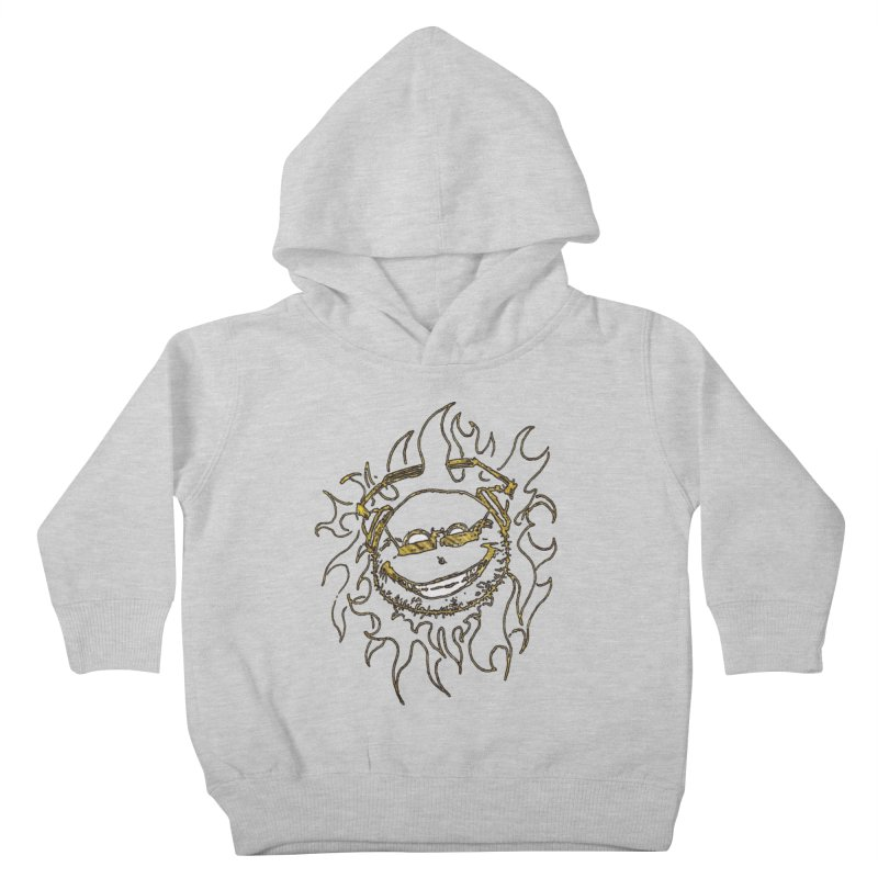 Sun Beats Kids Toddler Pullover Hoody by 7thSin Apparel