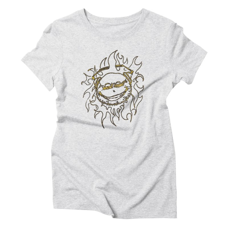 Sun Beats Women's Triblend T-Shirt by 7thSin Apparel