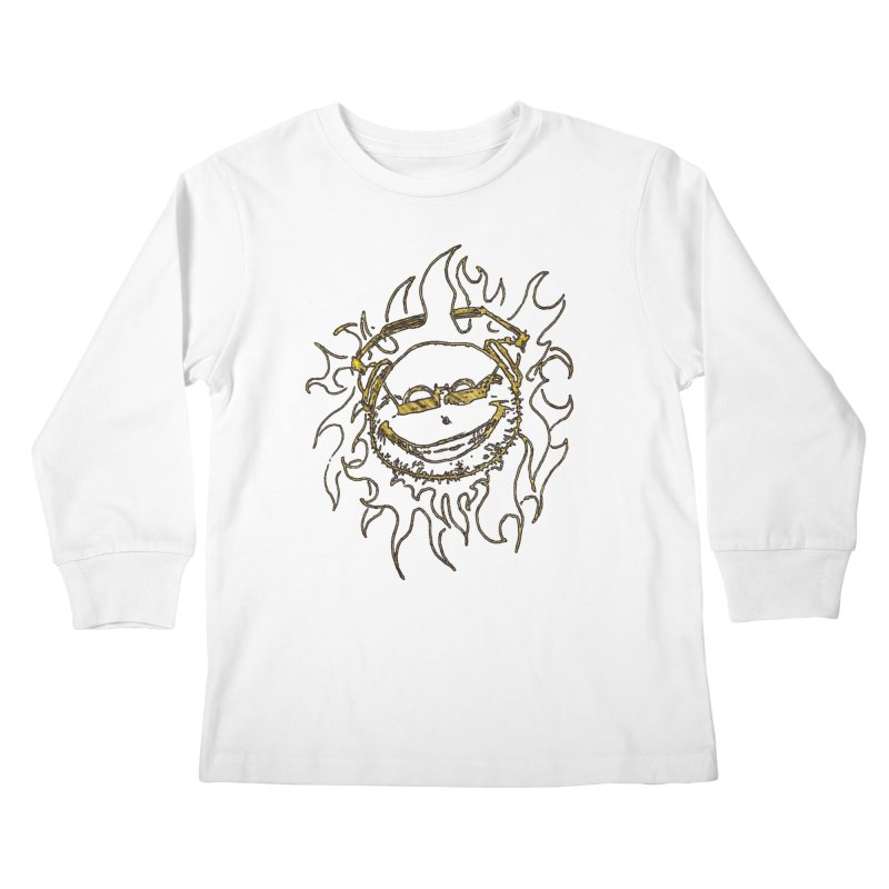 Sun Beats Kids Longsleeve T-Shirt by 7thSin Apparel
