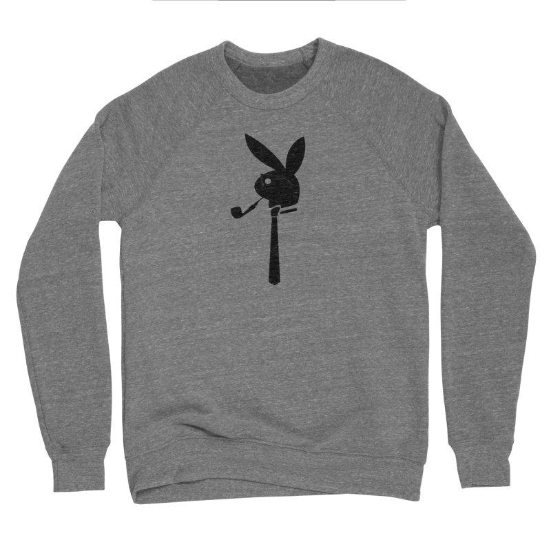 Mr. Bunny (Black) Women's Sponge Fleece Sweatshirt by 7thSin Apparel
