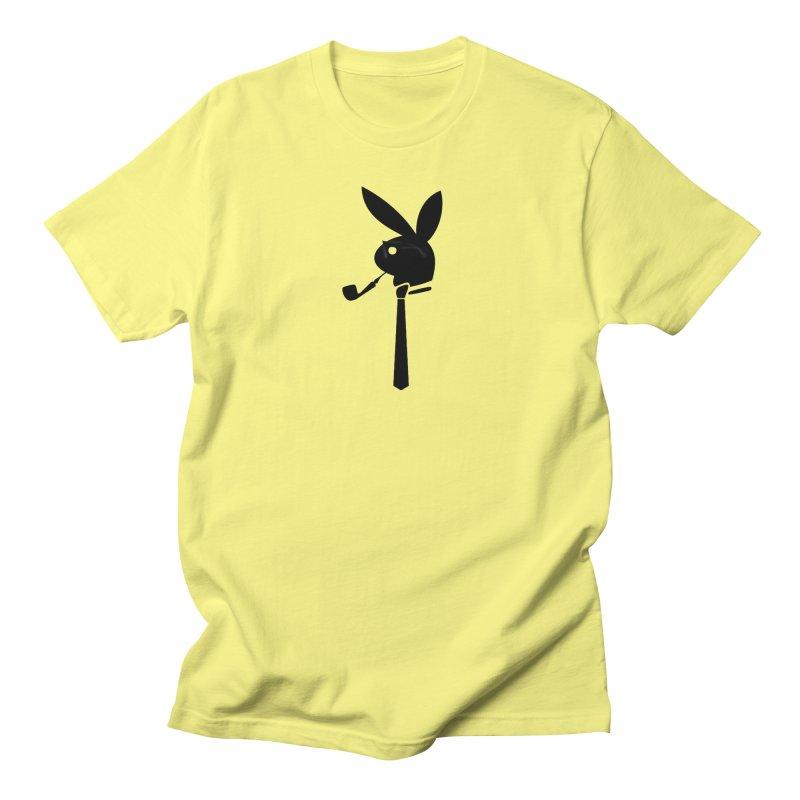 Mr. Bunny (Black) Men's Regular T-Shirt by 7thSin Apparel