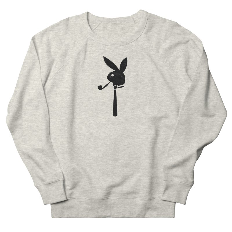 Mr. Bunny (Black) Women's French Terry Sweatshirt by 7thSin Apparel