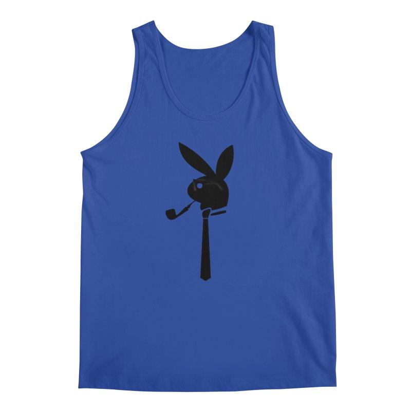Mr. Bunny (Black) Men's Regular Tank by 7thSin Apparel