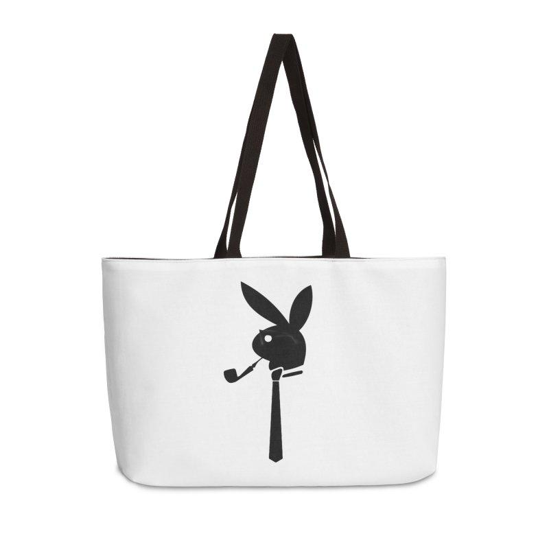 Mr. Bunny (Black) Accessories Weekender Bag Bag by 7thSin Apparel