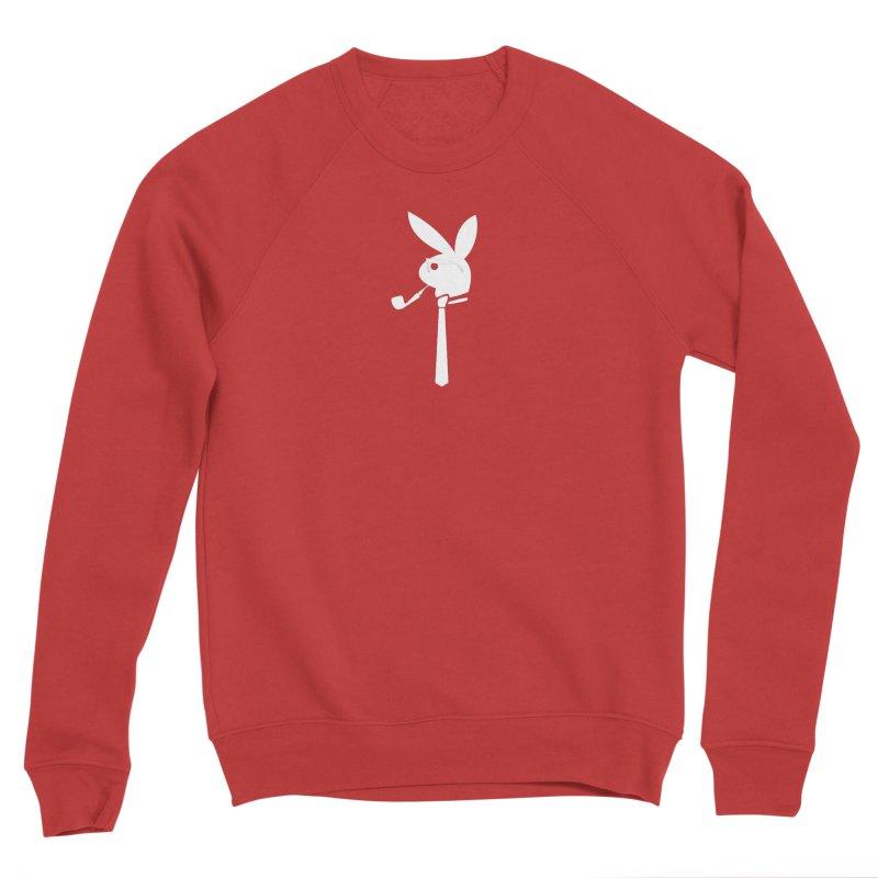 Mr. Bunny (White) Women's Sponge Fleece Sweatshirt by 7thSin Apparel