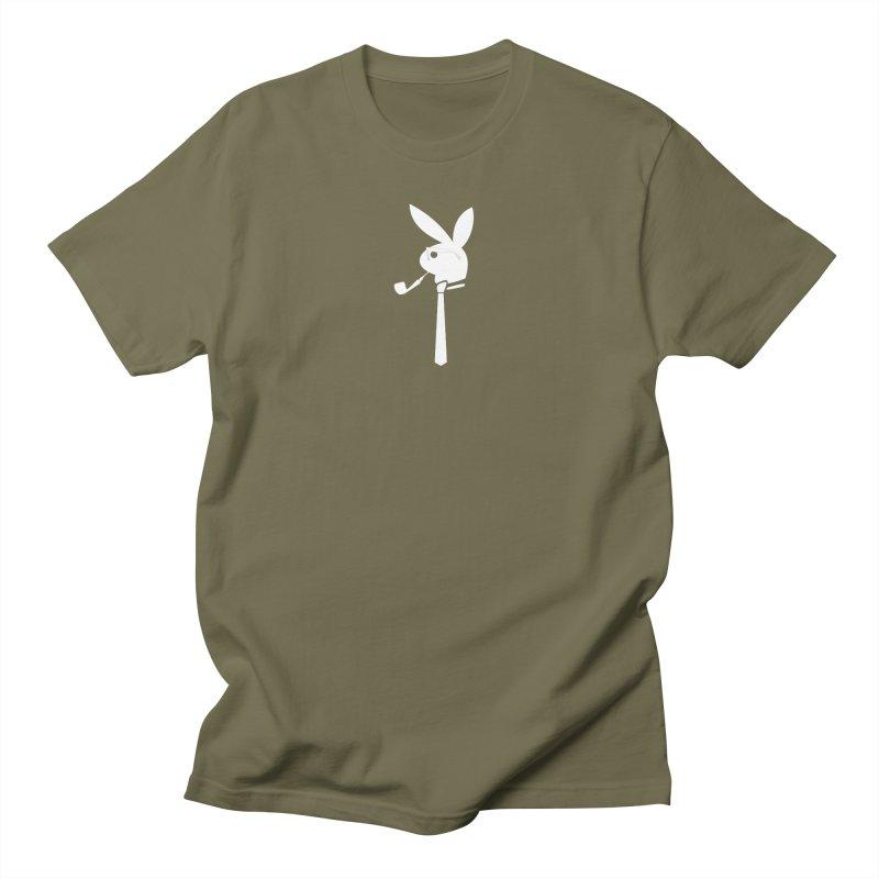 Mr. Bunny (White) Women's Regular Unisex T-Shirt by 7thSin Apparel