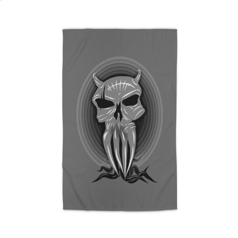 Greyskull Home Rug by 7thSin Apparel