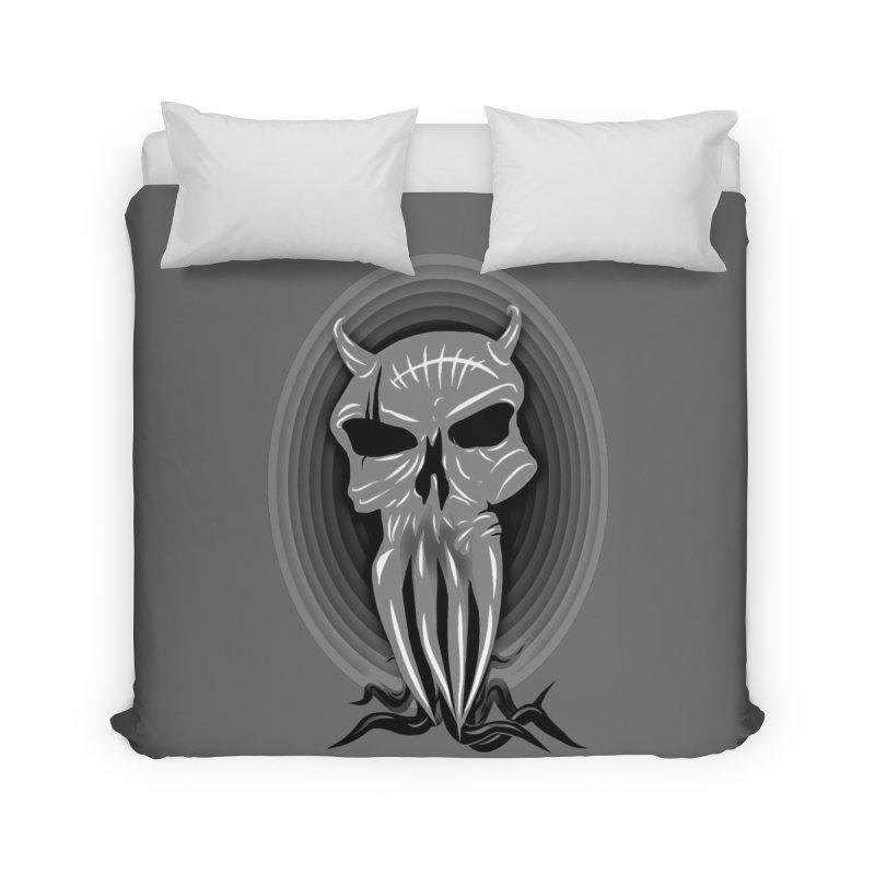 Greyskull Home Duvet by 7thSin Apparel