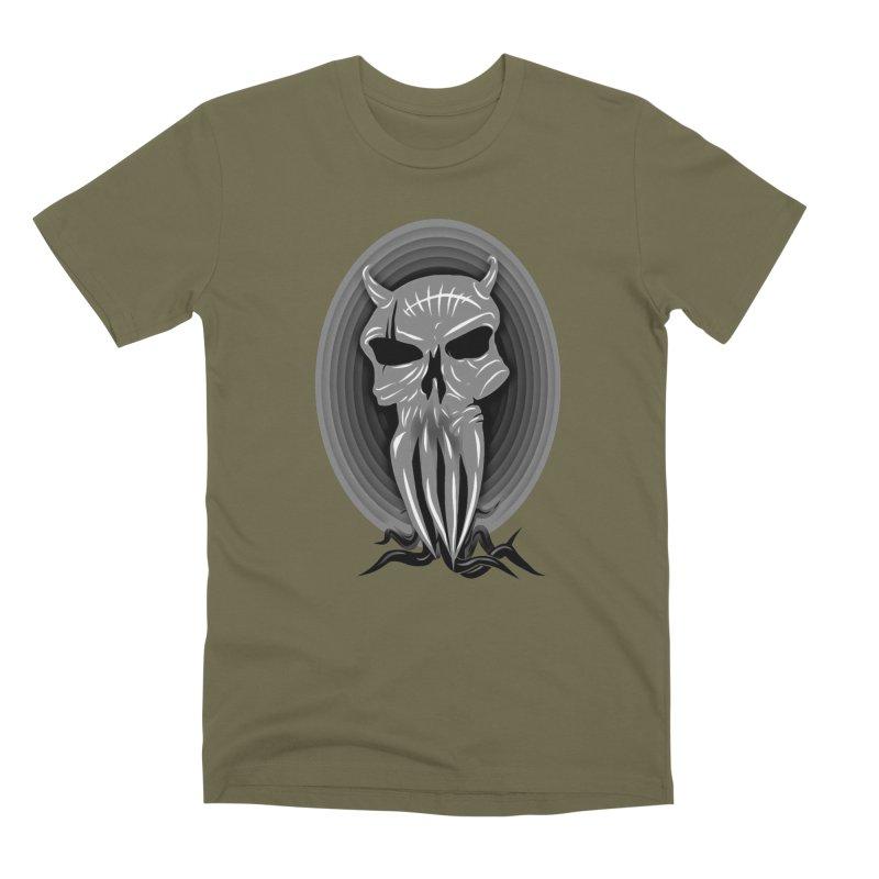 Greyskull Men's Premium T-Shirt by 7thSin Apparel