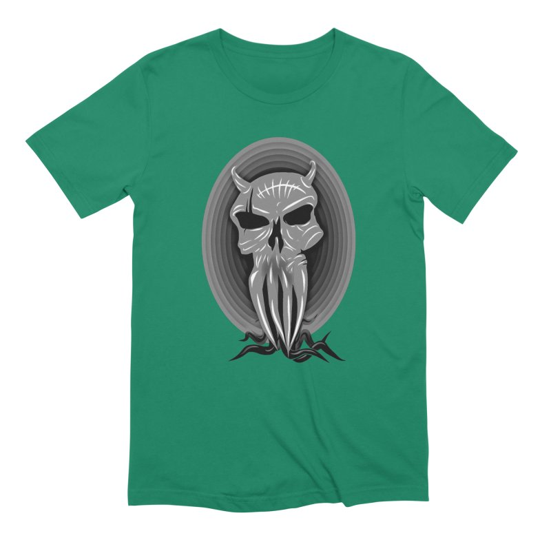 Greyskull Men's Extra Soft T-Shirt by 7thSin Apparel