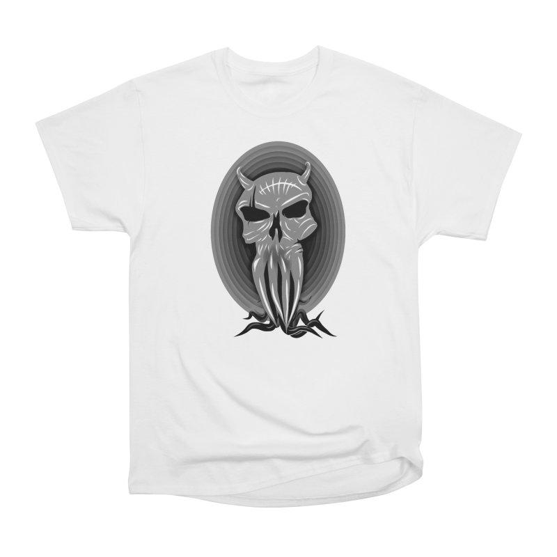 Greyskull Men's Heavyweight T-Shirt by 7thSin Apparel