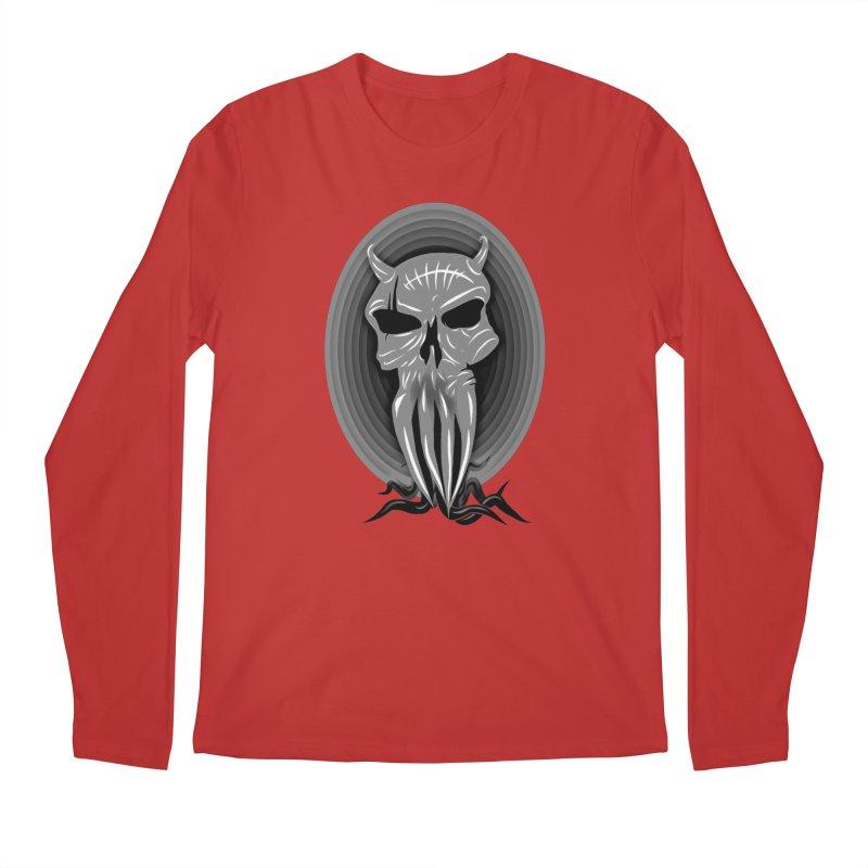 Greyskull Men's Regular Longsleeve T-Shirt by 7thSin Apparel