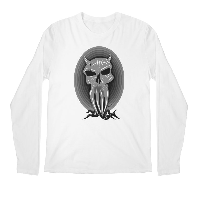 Greyskull Men's Regular Longsleeve T-Shirt by 7thSin Apparel