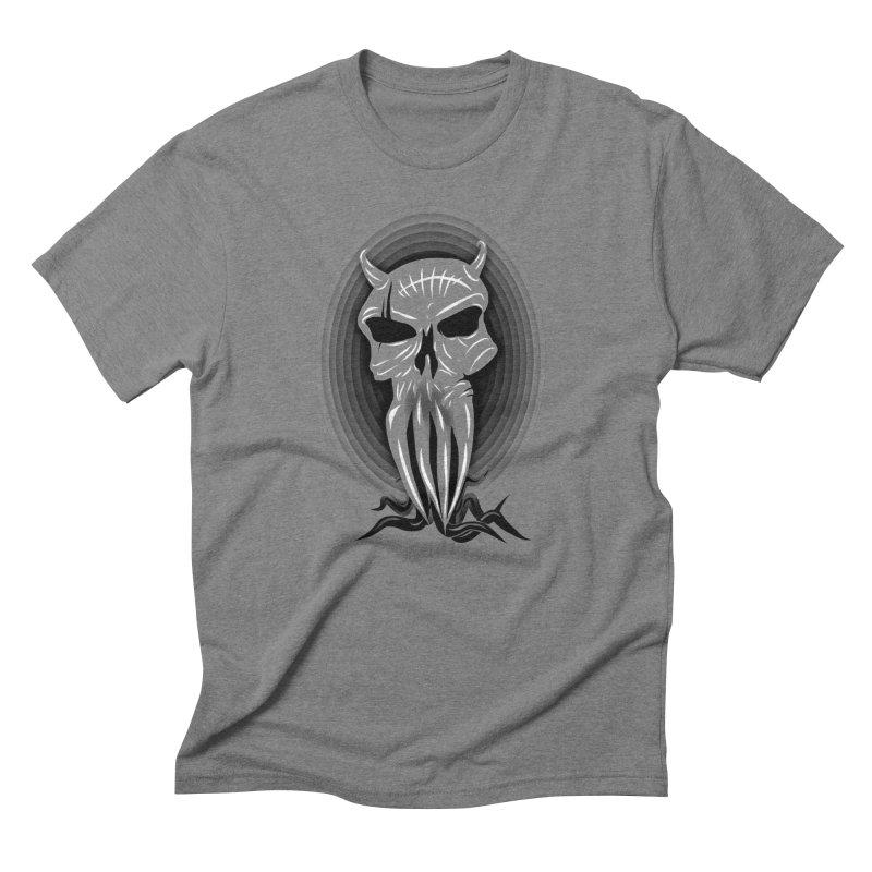 Greyskull Men's Triblend T-Shirt by 7thSin Apparel