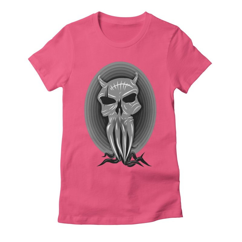 Greyskull Women's Fitted T-Shirt by 7thSin Apparel