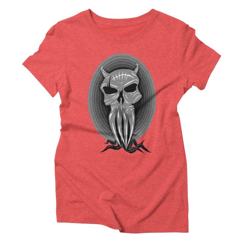 Greyskull Women's Triblend T-Shirt by 7thSin Apparel