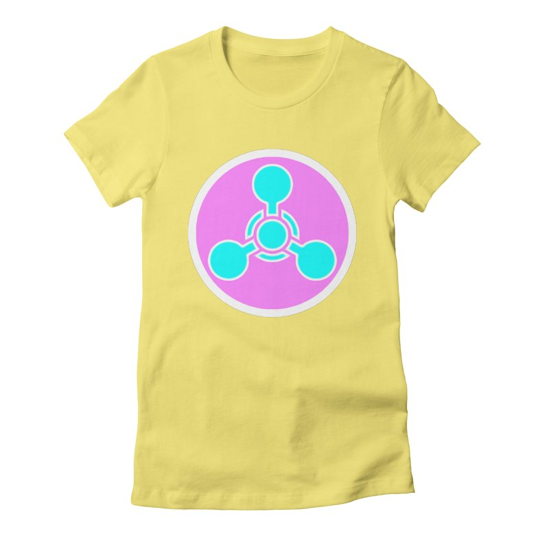 Chemicals Women's Fitted T-Shirt by 7thSin Apparel
