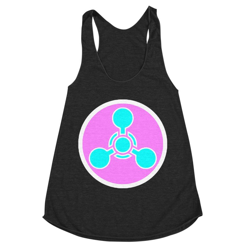 Chemicals Women's Racerback Triblend Tank by 7thSin Apparel