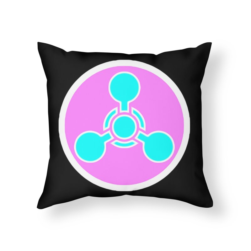 Chemicals Home Throw Pillow by 7thSin Apparel