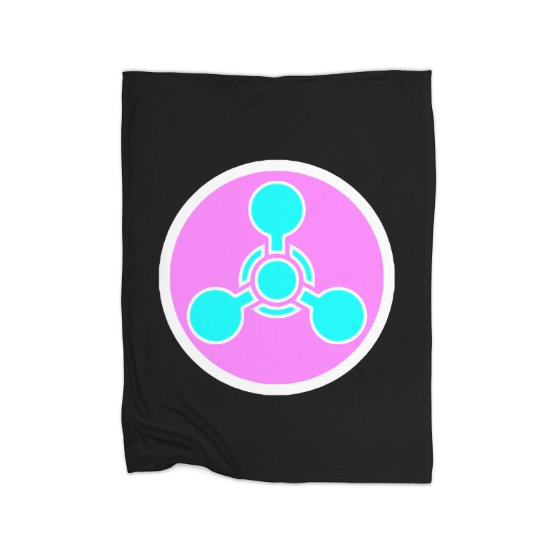 Chemicals Home Fleece Blanket Blanket by 7thSin Apparel