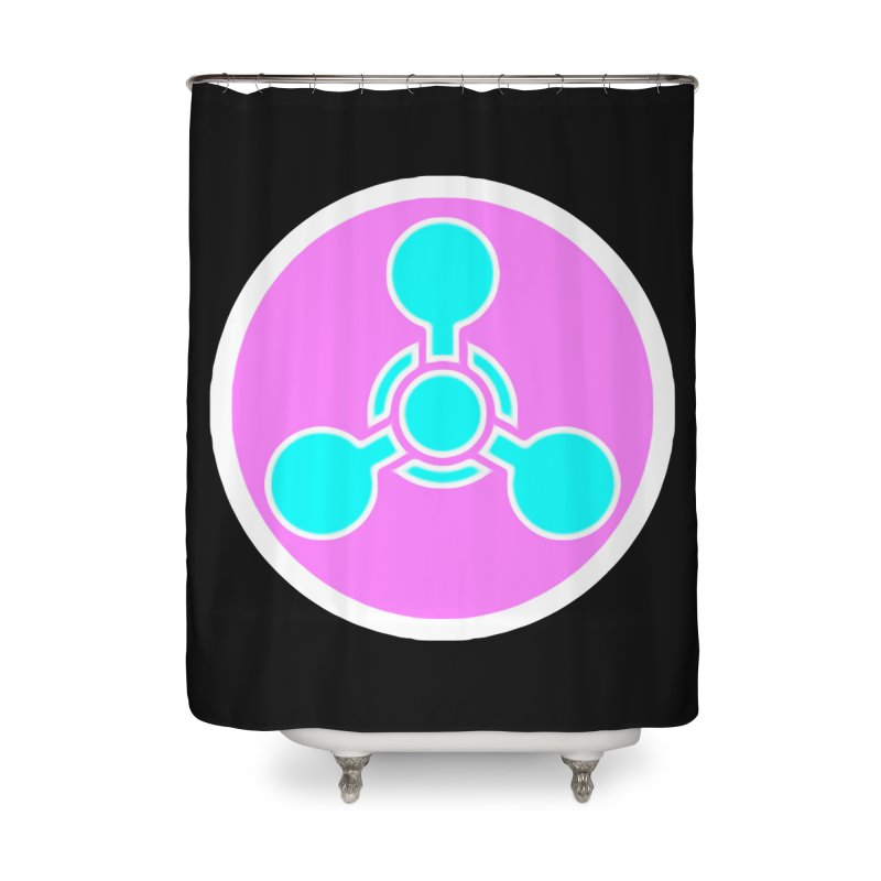 Chemicals Home Shower Curtain by 7thSin Apparel