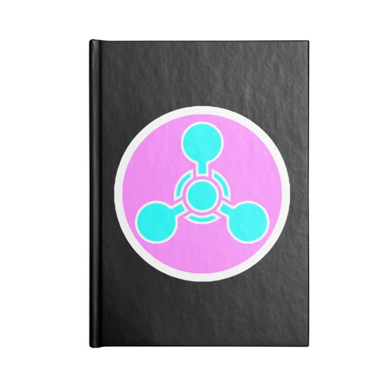 Chemicals Accessories Lined Journal Notebook by 7thSin Apparel
