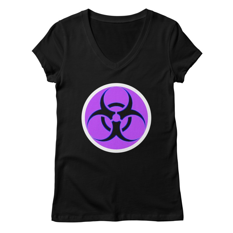 Biologique Women's Regular V-Neck by 7thSin Apparel