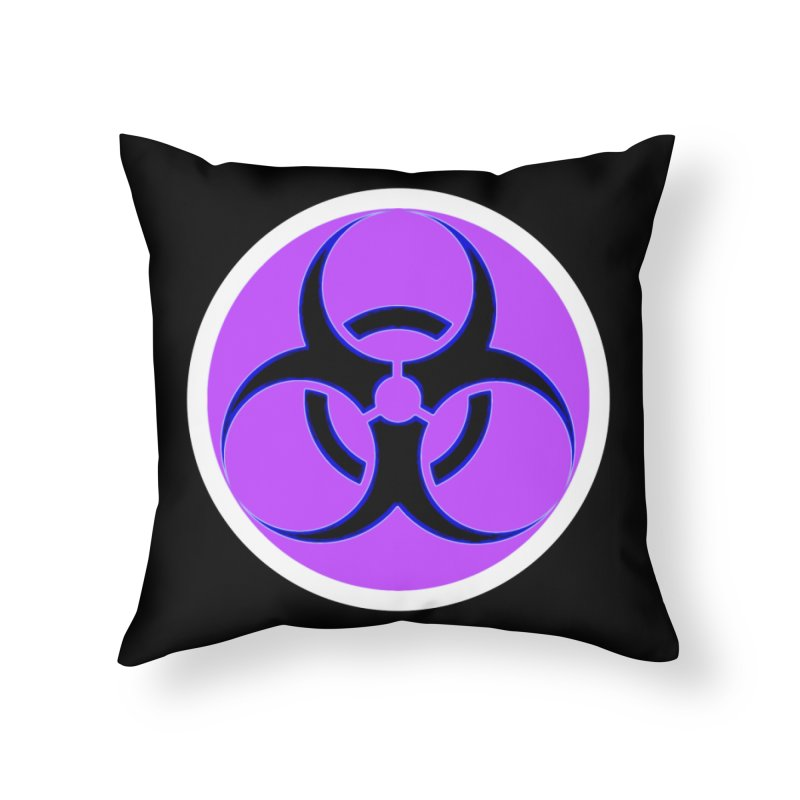Biologique Home Throw Pillow by 7thSin Apparel