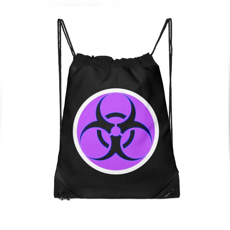 Biologique Accessories Drawstring Bag Bag by 7thSin Apparel