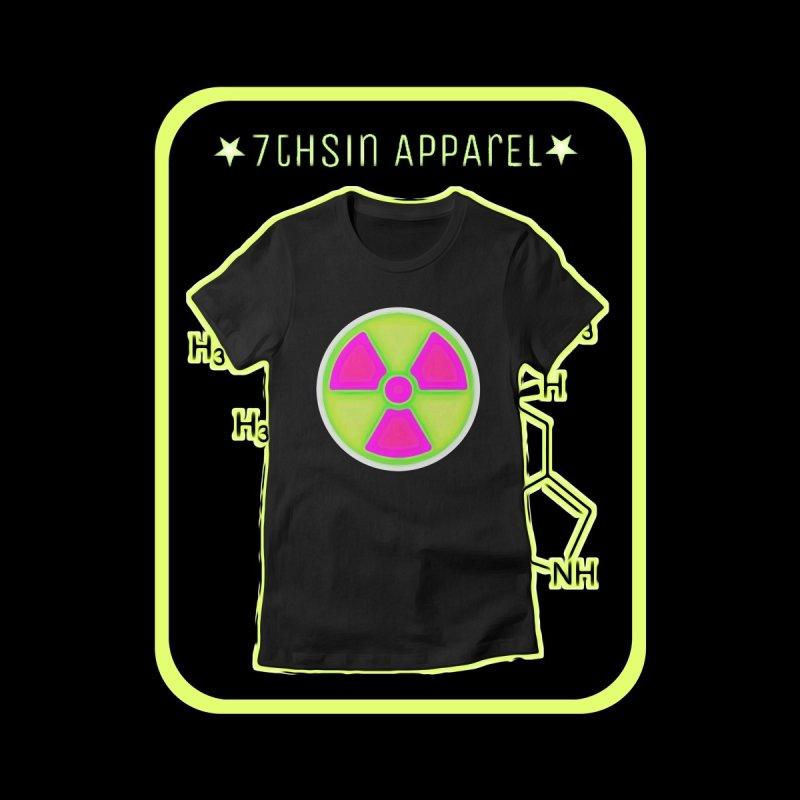 Nu-clear Women's Longsleeve T-Shirt by 7thSin Apparel