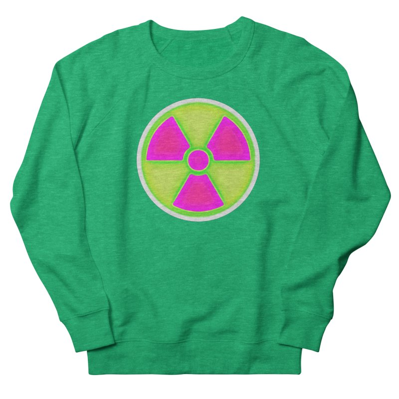 Nu-clear Women's French Terry Sweatshirt by 7thSin Apparel