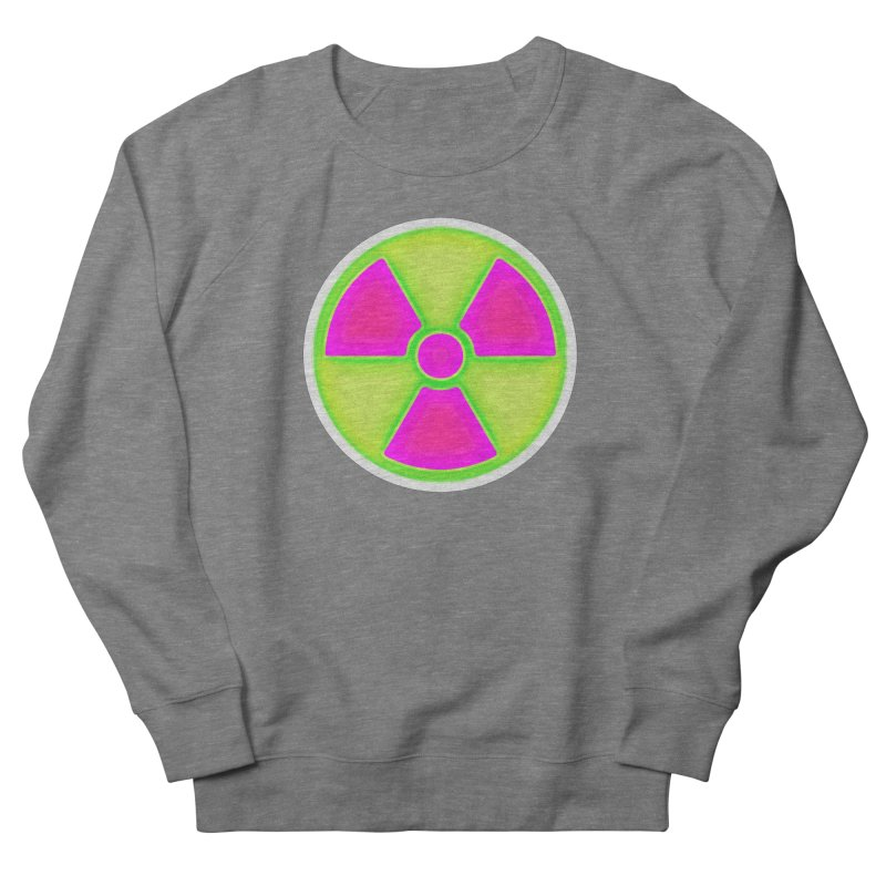 Nu-clear Men's French Terry Sweatshirt by 7thSin Apparel