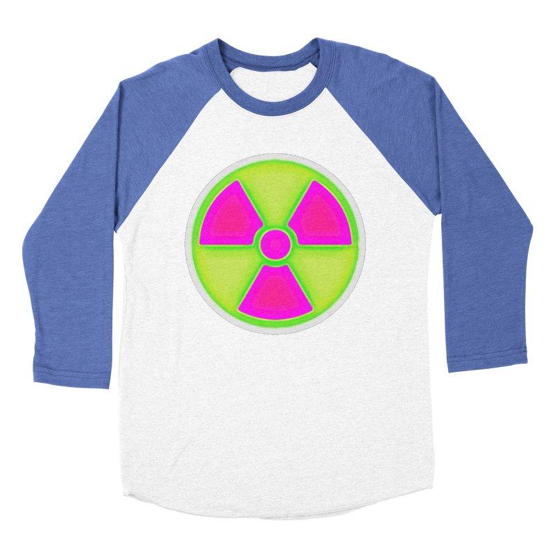 Nu-clear Women's Baseball Triblend Longsleeve T-Shirt by 7thSin Apparel