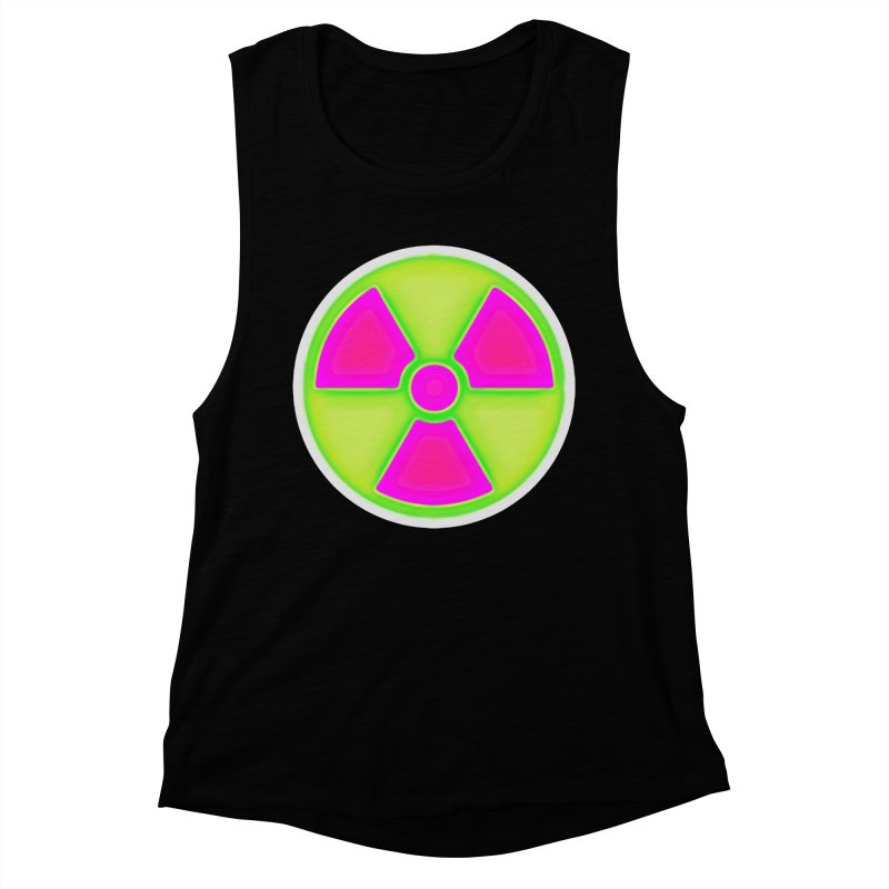 Nu-clear Women's Muscle Tank by 7thSin Apparel