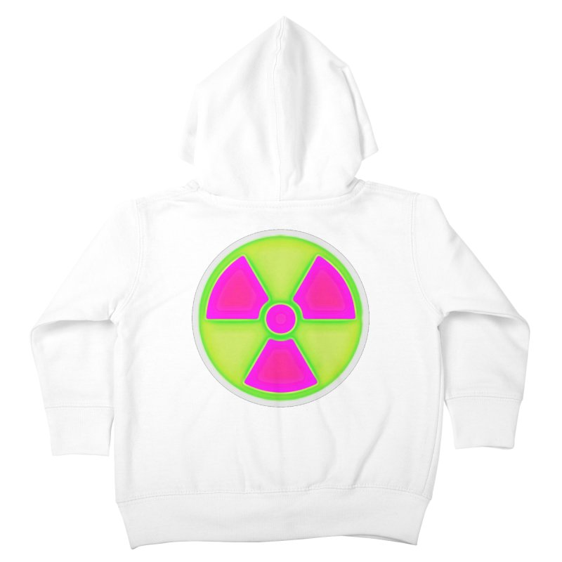 Nu-clear Kids Toddler Zip-Up Hoody by 7thSin Apparel